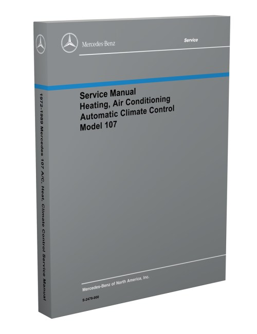 small resolution of 1972 1989 mercedes 107 air conditioning heater service manual1972 1989 mercedes 107 air conditioning heater service