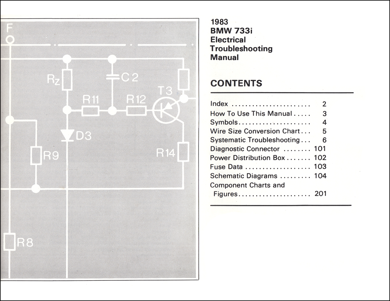 hight resolution of 1983 bmw 733i electrical troubleshooting manual 733 i wiring diagram1983 bmw 733i electrical troubleshooting manual 733