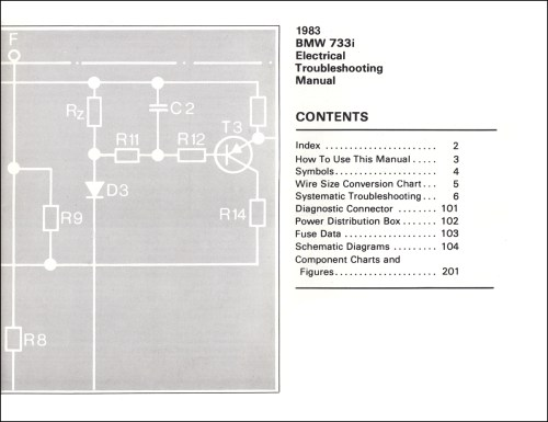 small resolution of 1983 bmw 733i electrical troubleshooting manual 733 i wiring diagram1983 bmw 733i electrical troubleshooting manual 733