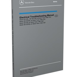 1986 1991 mercedes 126 electrical troubleshooting manual reprint 300sdl se sel 350sd sdl 420sel 560sec sel [ 800 x 1040 Pixel ]