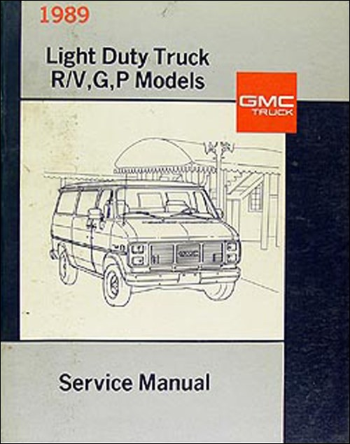 small resolution of 1989 gmc repair shop manual original jimmy suburban r v pickup van fc