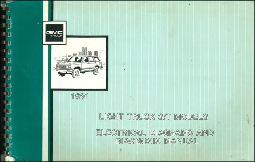 small resolution of 91 gmc sonoma wiring diagram wiring diagram centre 91 gmc sonoma ignition wiring diagram
