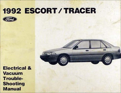small resolution of 1992 ford escort and mercury tracer electrical troubleshooting manual
