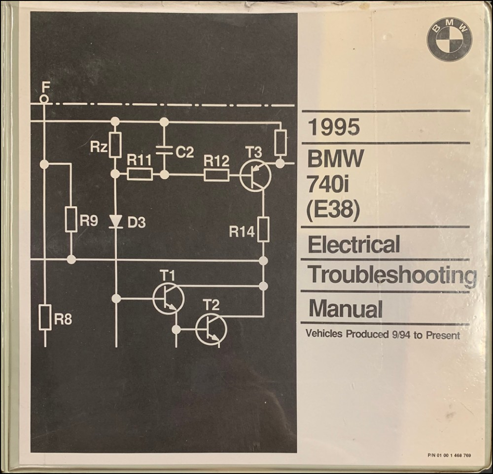 medium resolution of 1995 bmw 740i electrical troubleshooting manual