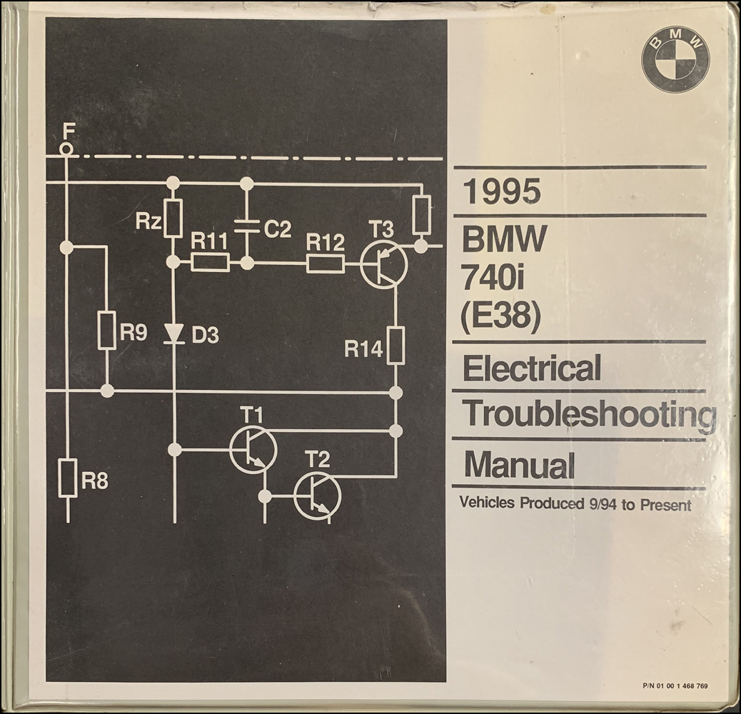 hight resolution of 1995 bmw 740i electrical troubleshooting manual