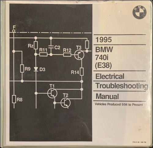 small resolution of 1995 bmw 740i electrical troubleshooting manual