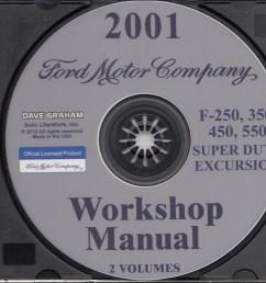 2001 ford truck cd repair shop manual f250 550 pickup super duty excursion [ 1171 x 1000 Pixel ]
