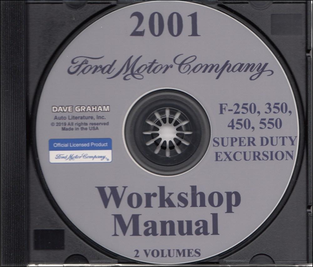 medium resolution of 2001 ford truck cd repair shop manual f250 550 pickup super duty excursion