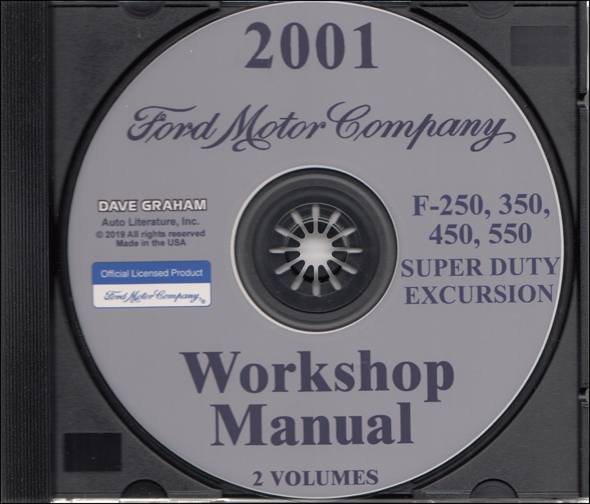 hight resolution of 2001 ford truck cd repair shop manual f250 550 pickup super duty excursion