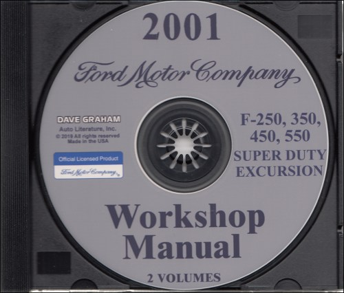 small resolution of 2001 ford truck cd repair shop manual f250 550 pickup super duty excursion