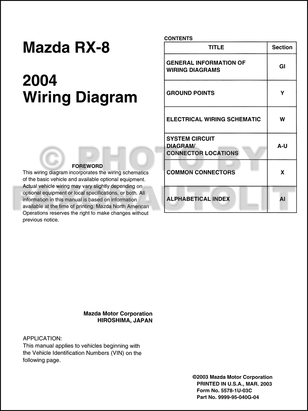 hight resolution of 2004 mazda rx 8 radio wiring diagram