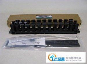 泛達Panduit 1U單面水平理線器WMPFSE - 泛達布線產品 - 專注福祿克測試儀銷售與技術