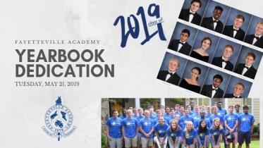 yearbook dedication flyer