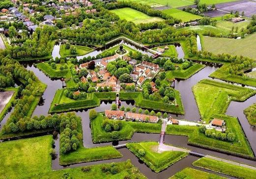 Fort-Bourtange-Hollanda