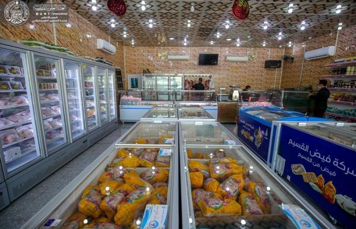 في إطار سعيها لرفد السوق المحلية...شركة فيض القسيم في العتبة العلوية توفر مختلف المنتجات الغذائية