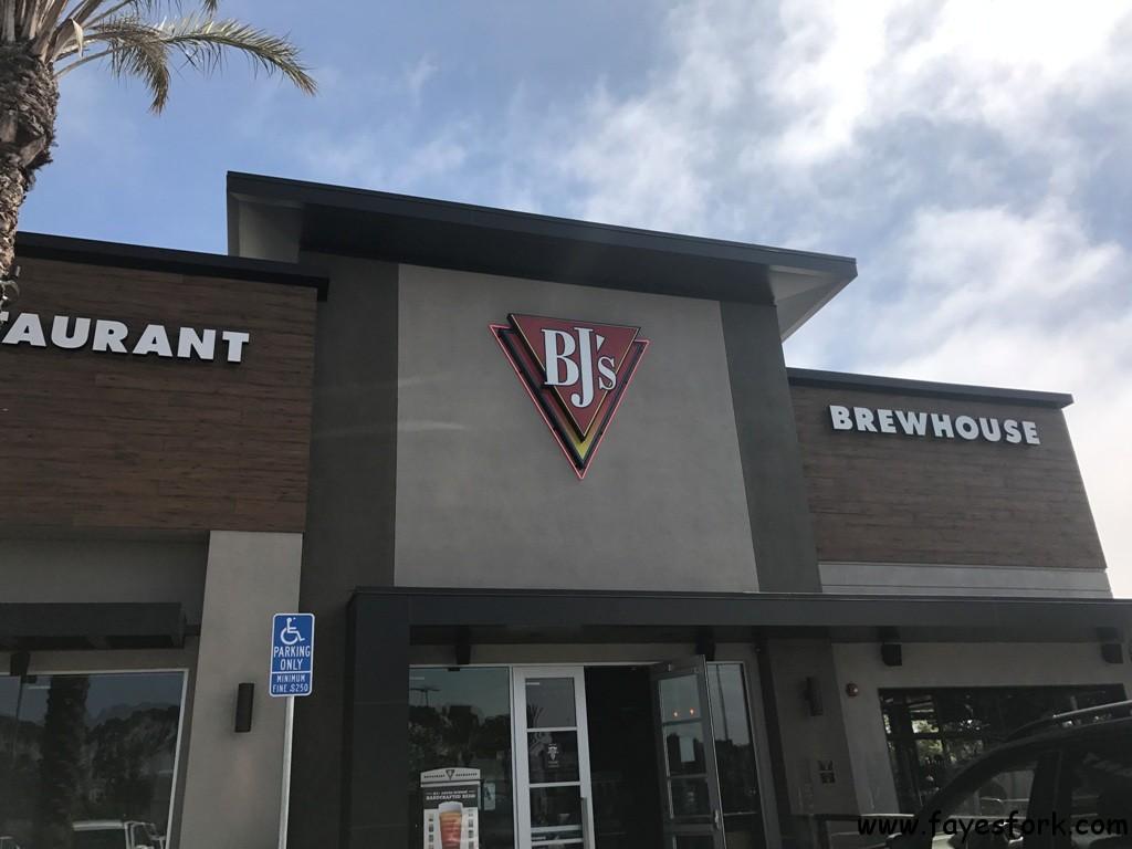 Bj S Restaurant Brewhouse La Jolla Ca Faye S Fork