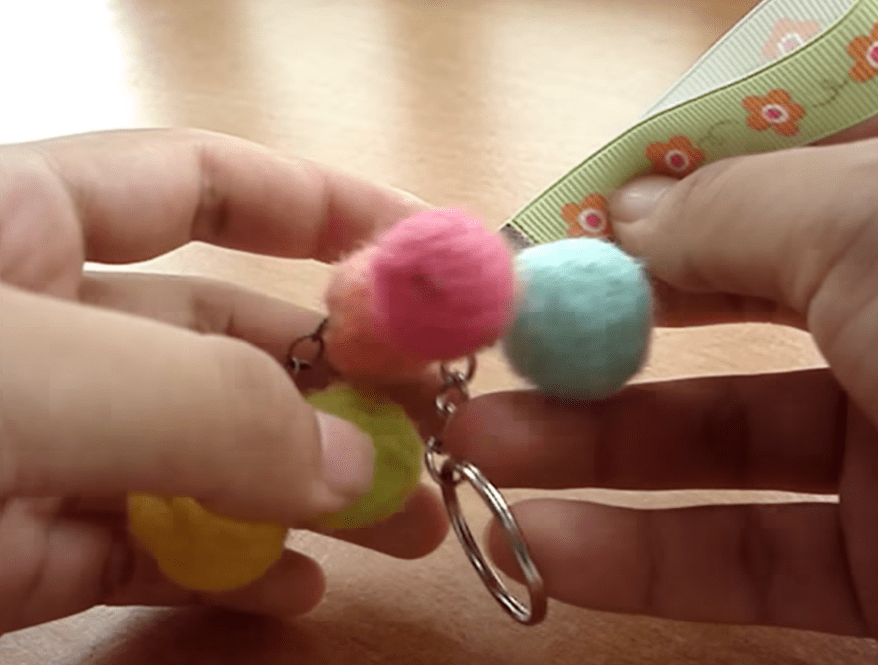 Wool and felting projects.