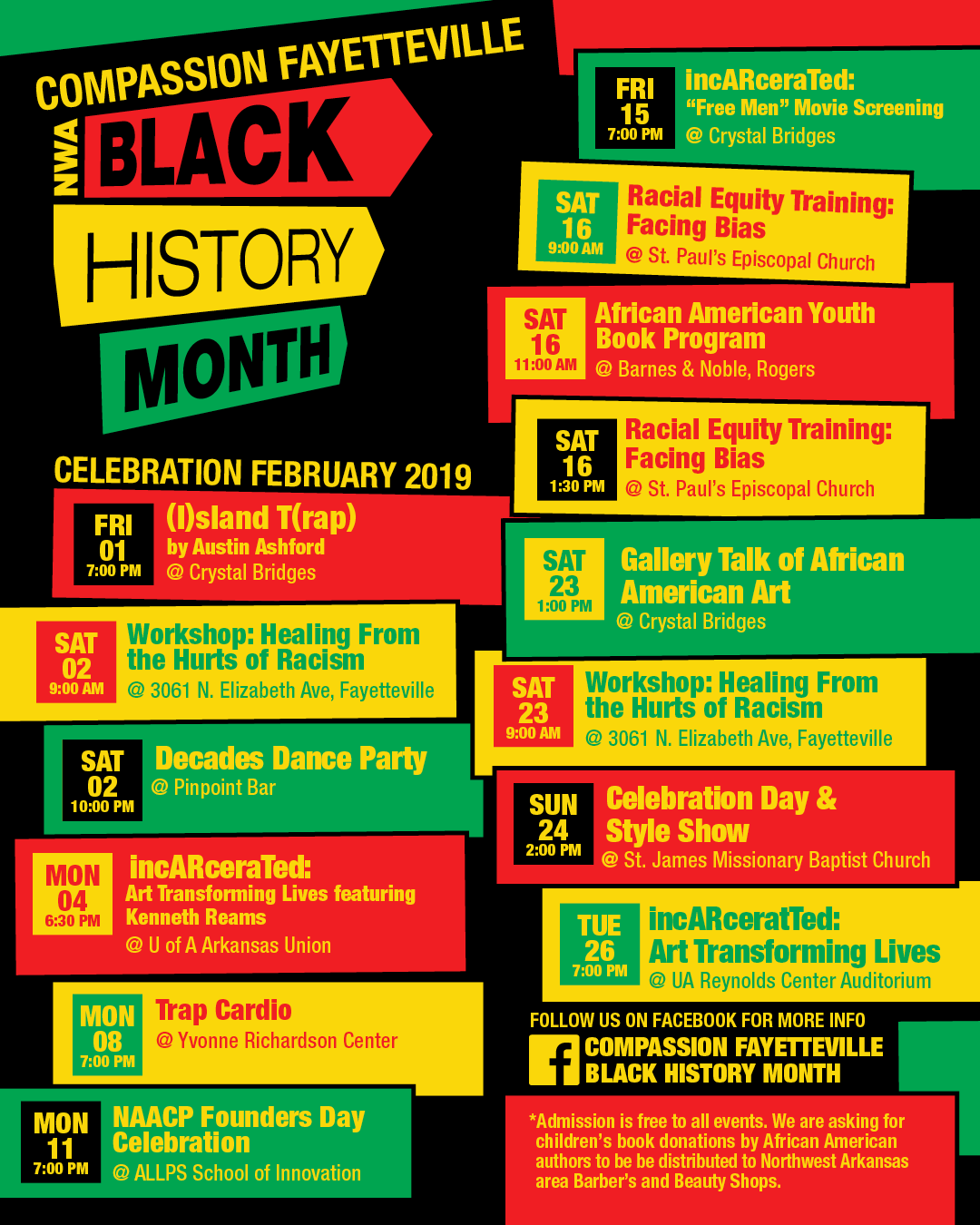 Black History Month Events Planned In Fayetteville