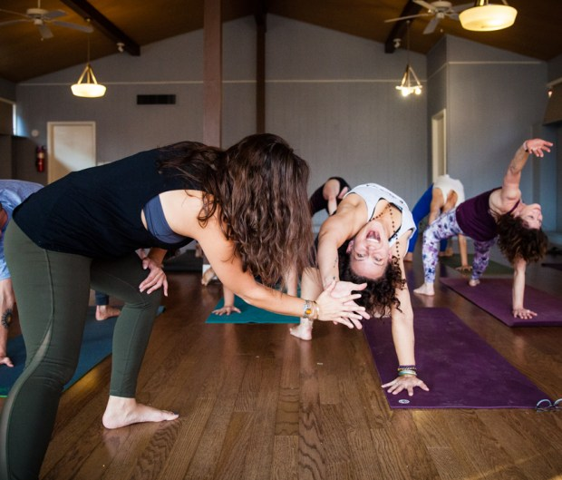 Fayetteville Yoga Fest photo shoot. Mount Sequoyah. Fayetteville, Arkansas yoga festival