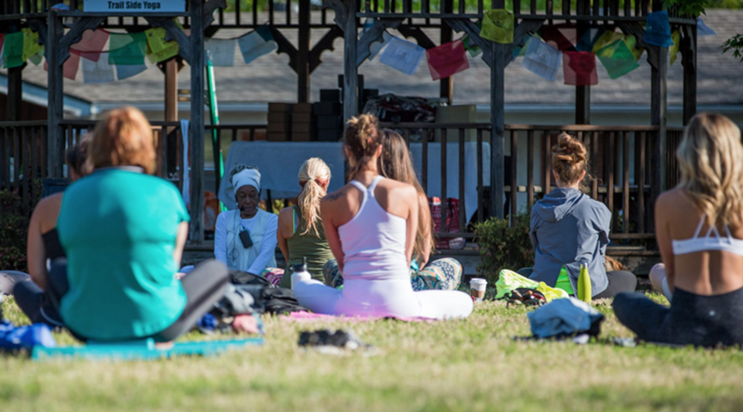 Fayetteville Yoga Fest in Northwest Arkansas.