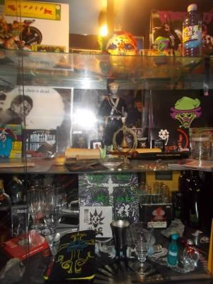Britt's treasure trove in her apartment. (Can you spot the DC Tarot deck?)