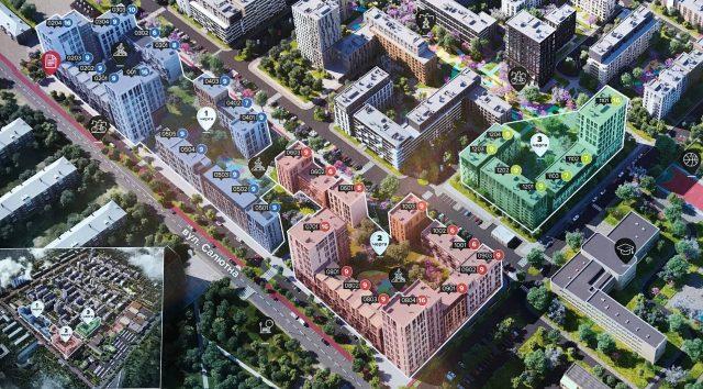 Третья очередь «Файна Таун» выходит на променады, квартиры уже в продаже