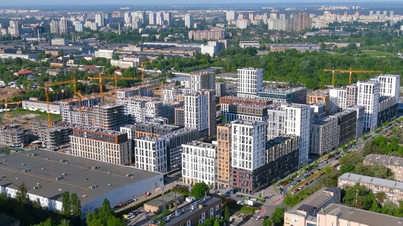 Ход строительства «Файна Таун»: май 2021 года