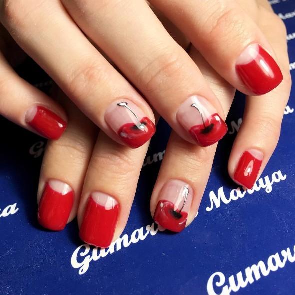 cherry nails 2