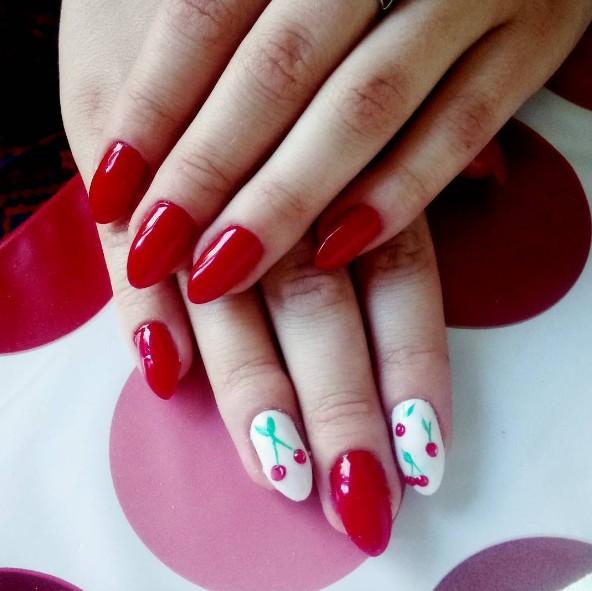 cherry nails 8