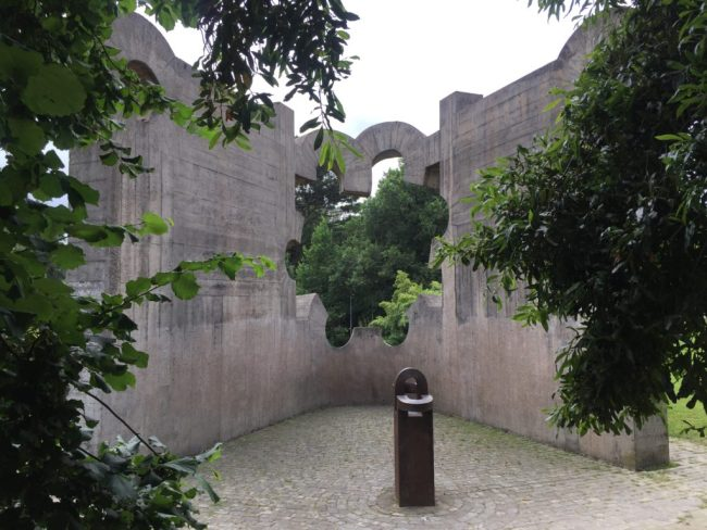 Eduardo Chillida's sculpture in Gernika