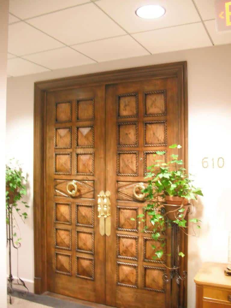 Portas de madeira  FazFcil
