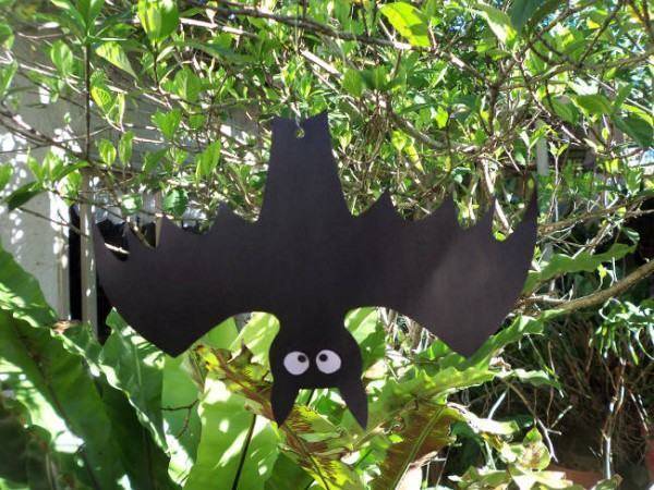 Morcegos Halloween Para Pendurar  FazFcil