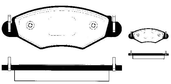 BREMSSCHEIBEN 247mm + BELÄGE VORNE PEUGEOT 206 auch SW