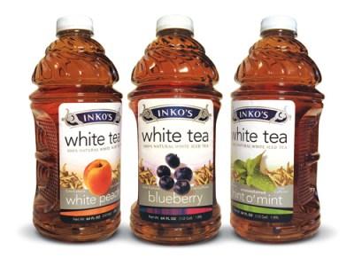INKO'S ALL-NATURAL BOTTLED WHITE TEAS