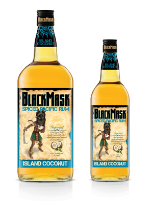BlackMask Spiced Pacific Rum
