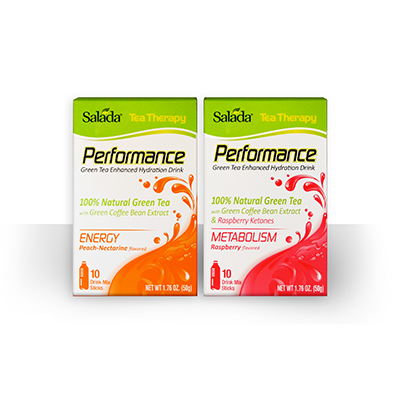 Salada Tea Launches Therapy Performance Drink Mix Sticks For