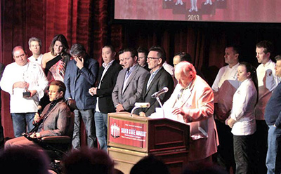 Kerry Simon receives Visionary Award