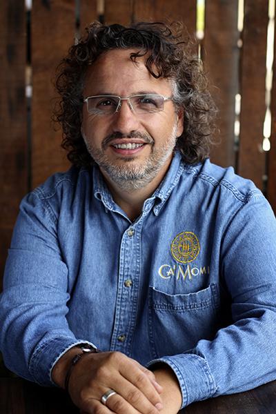 Dario De Conti, C.E.O. and Winemaker for Ca' Momi
