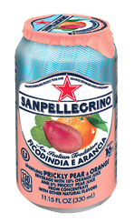 Sanpellegrino® Sparkling Fruit Beverages - Ficodindia e Arancia