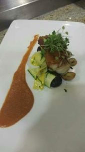 Final dish by Chef Drew Ward
