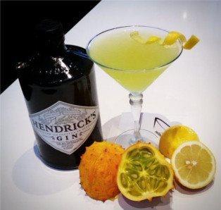 Kiwano Summer Cocktail