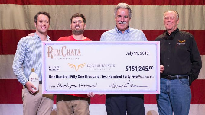 Rumchata Raises $151,245 for Lone Survivor Foundation