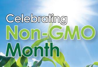 non GMO month -