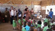 Supporting primary schools through the distribution of school supplies