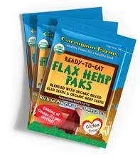 Carrington Farms Flax Hemp Paks