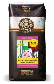 The Coffee Bean & Tea Leaf®'s limited edition Adopt the Arts featuring artwork created by students who have benefitted from the program3
