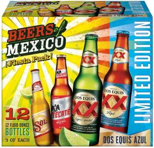 limited-edition Dos Equis Azul