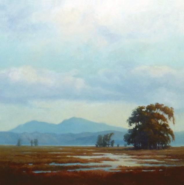 Christin Coy painting