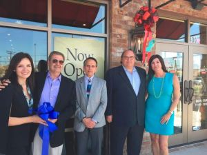 Franchisees Daniella and Elie Khoury of Southeast Restaurant Group, Lake Charles Mayor Randy Roach