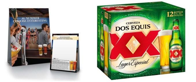 Dos Equis Refreshes Logo Amp Packaging Food Amp Beverage